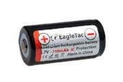 EagleTac 16340/RCR123A 750mAh - 1.5A